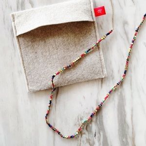 Madewell Multi-color Beaded Necklace